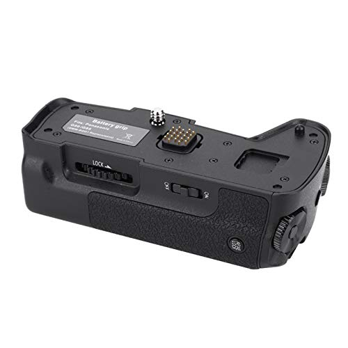 VBESTLIFE Impugnatura per Batteria, Impugnatura per Fotocamera Portatile Nera da 1/4 di Pollice con Pelle Artificiale per Batteria DMW-BLC12 per Panasonic Lumix G80 G85