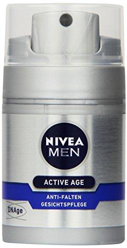 NIVEA Men, Anti-Falten Gesichtspflege für Männer, 50 ml Spender, Active Age