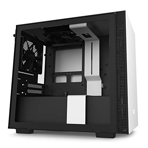 NZXT H210 - CA-H210B-W1 - Mini-ITX PC Gaming Case - Front I/O USB Type-C Port -...