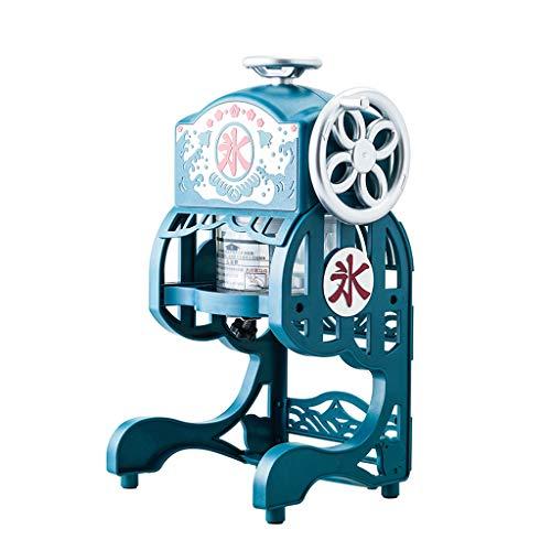 Elektrische Fluffy Shaved Ice Machine Kleine Home Snow Cone Maker Kommerzielle Retro-Eisbrecher GeräUscharmer Betrieb