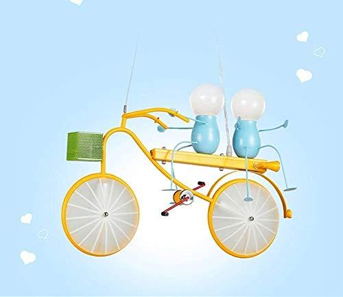 Hancoc Cálido Hogar Bicicleta Araña Habitación De Los Niños Iron Boy Dormitorio Moderno Minimalista Led Longitud Creativo