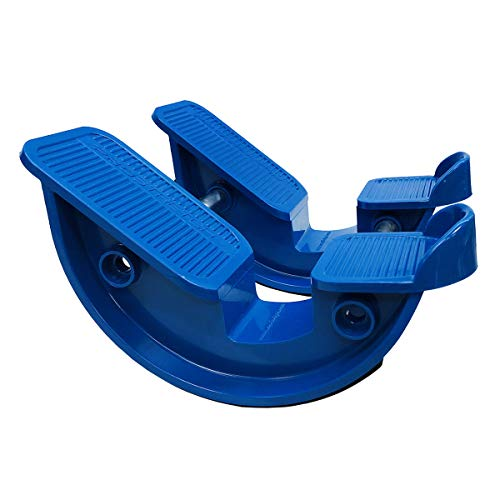 ProStretch 'Blue' (Double) - The Original Calf Stretcher & Foot Rocker for Plantar Fasciitis, Achilles Tendonitis & Tight Calf Pain (Slip Resistant Bottom)