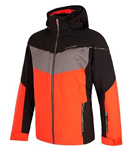 Ziener heren ski-jas ski-jas winterjas TAKOSH Man oranje grijs