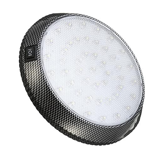 Coche LED redondo Coche interior Cúpula Luz Techo Techo Doal Indicación Light Light 12V 13cm Hudson Studio