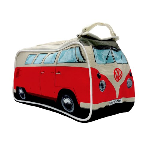 VW Bus T1 Trousse de Toilette Rouge