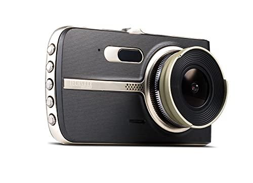 Technaxx La cámara de Tablero Fabricada por compañía ТХ-167 es la cámara de Tablero a Bordo de automóviles con resolución FullHD Lente Gran Angular Sistema de Advertencia