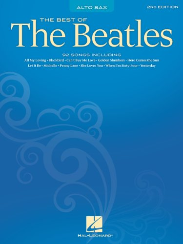Best of the Beatles Songbook: Alto Sax (SAXOPHONE) (English Edition)