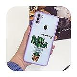 Fundas-Purple2045-Samsung M11 M115F Coque rigide en TPU pour Samsung Galaxy A11 M115F A115F