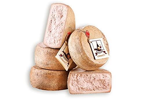 Queso Italiano Rocca Toscana Pecorino stagionato al vino chianti. Pack 1 X 1,5KG.