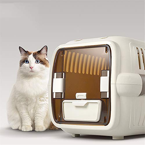 YAzNdom huisdier bed top hond huisdier reizen draagbare twee-deurs kat kooi auto gecontroleerd zakken vliegtuig huisdier nest hond bed
