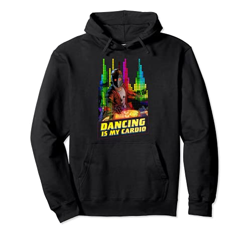 Marvel Star-Lord Peter Quill Dancing is My Cardio Sudadera con Capucha