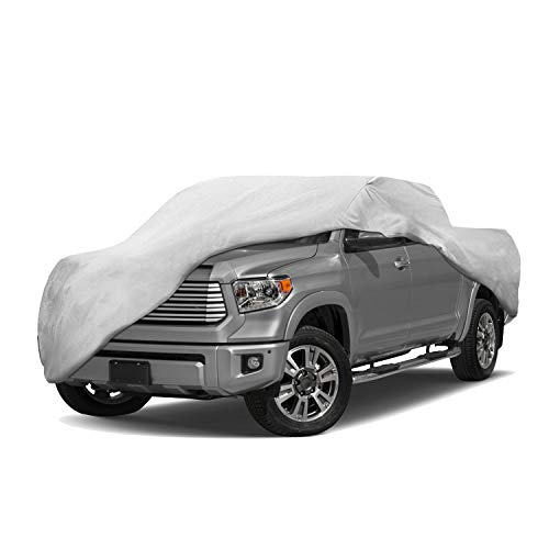 Motor Trend T-800 Weatherproof for 2006-2019 Toyota Tundra Custom Fit Truck Cover (Outdoor Use UV Protection Waterproof)