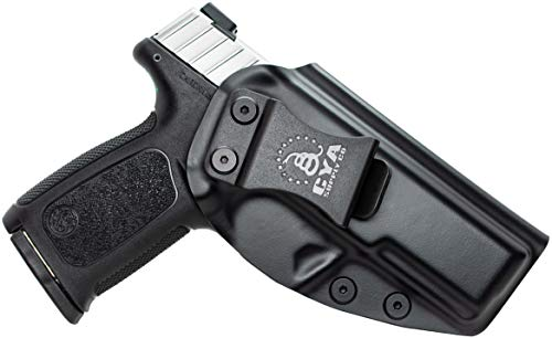CYA Supply Co. Fits S&W SD9 VE & SD40 VE Inside Waistband Holster Concealed Carry IWB Veteran Owned Company (Black, 041- S&W SD9 VE / SD40 VE)