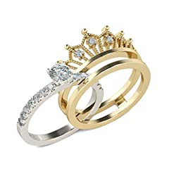 ♛ Gender: Girl & Women ♛ Splittable Crown Design and Unique Structure, it is a stylish accessories. ♛ Match with suitable apparel for different occasion ♛ Application - It is suitable for adults ♛ EXCELLENT GIFT: for birthday, anniversary, holidays, ...