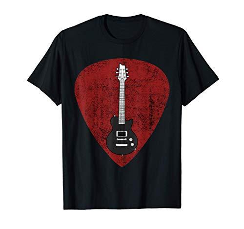 Electric Guitar Guitarra eléctrica Púa Guitarrista Camiseta
