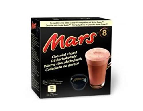 Dolce Gusto Twix/Mars Bevanda al Gusto di Cioccolato, 8 Capsule (Mars, 1 Scatola: 8 capsule)