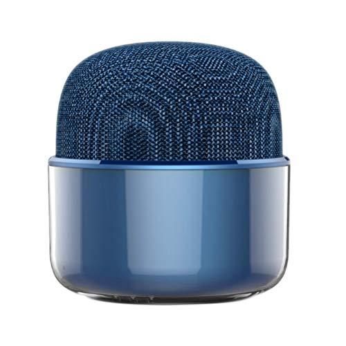 YLSZZTT Altavoz Bluetooth De Tela Mini Altavoz Estéreo Estéreo Portátil De 5 W con Función De Radio FM para Computadoras, Tabletas, Teléfonos
