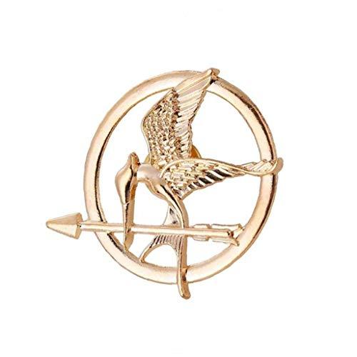 The Hunger Games Film Mockingjay Prop Rep Pin (Mockingjay Goldene) Geschenk Für Mädchen Frauen