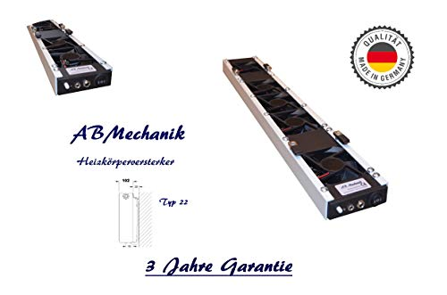Heizkörperverstärker 550mm / 5 x ECO Lüfter TYP 22