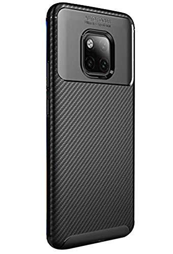 Huawei Mate 20 Pro Hülle TPU Außenaktivitäten Schutzhülle mit Standfunktion stoßfest geschützt Case für Huawei Mate 20 Pro 2018 Muti-Funktion(Huawei Mate 20 Pro, Schwarz)