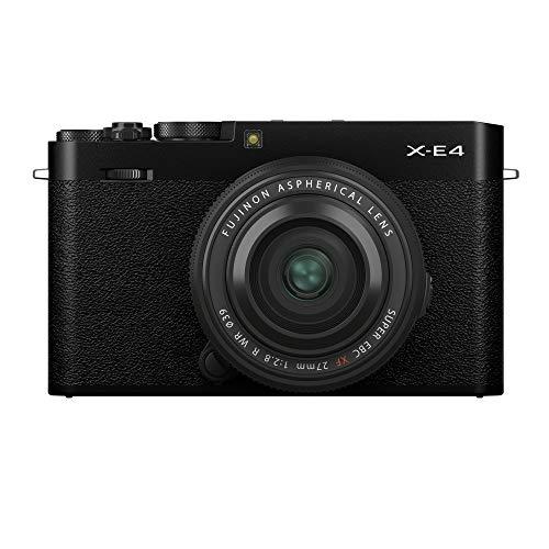 Fujifilm X-E4 Kit con Objetivo FUJINON XF27mm f2.8 R WR, Color Negro
