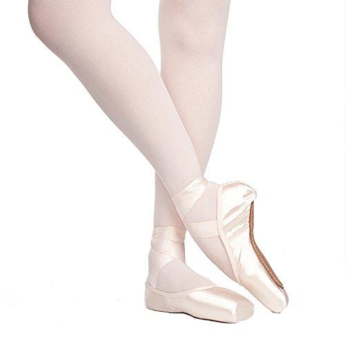 Russian Pointe Rubin Pointe Shoes, U-Cut Hard Shank - Size 35, Width 3, Vamp V2