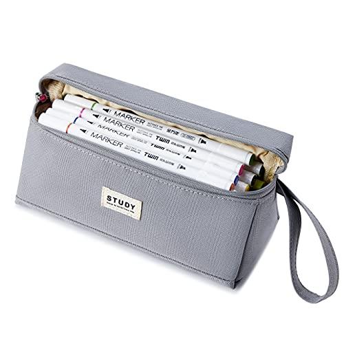 KALIDI Federmäppchen Pencil Case Mäppchen Stiftemappe Stiftetasche Federmappe für Schule & Büro