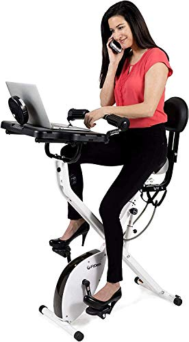 FitDesk Standing Adjustable Desk Bike