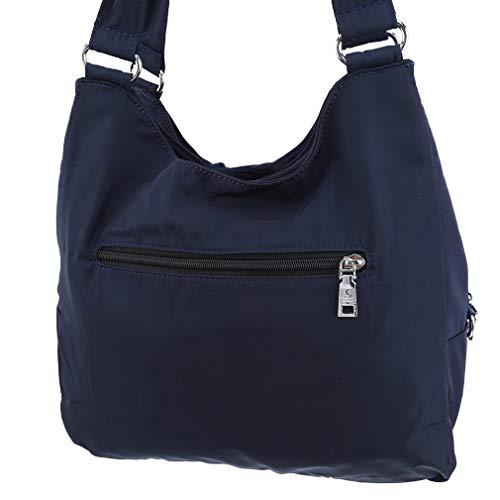 Rlmobes Bolso de trabajo ligero para mujer, bolso de viaje, azul marino (Azul) - Rlmobes