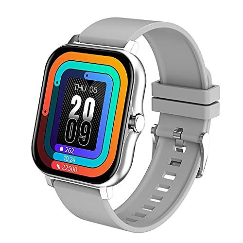 Reloj inteligente, rastreadores de ejercicios con contador de calorías por pasos, monitor de sueño, rastreador de actividad, reloj inteligente a prueba de agua IP67, pantalla a color de 1.3 'para muje