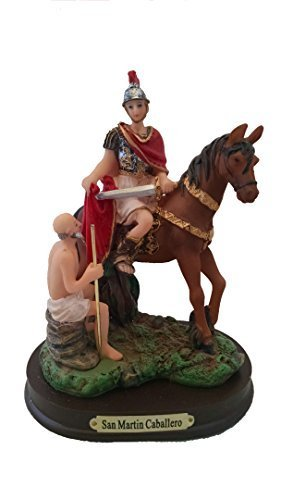 5' Inch St Martin of Tours San Martin Caballero Statue Saint Santo Figurine by Adep