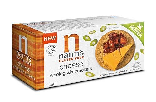 Nairn's Gluten Free Cheese Wholegrain Crackers, 137g