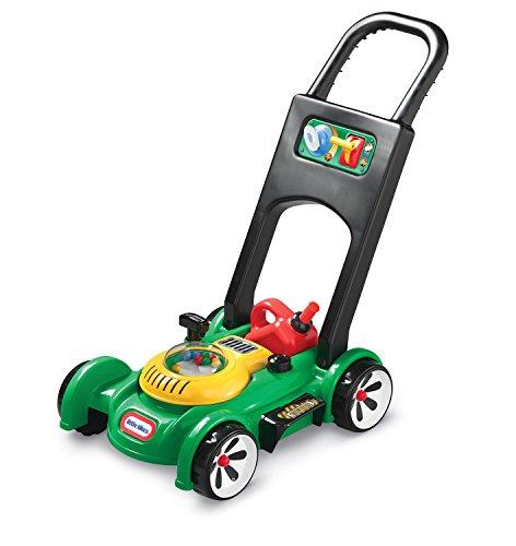 Little Tikes Gas n\' Go Mower - Realistischer Rasenmäher für das Spielen im Freien - Kinderspielzeug für den Garten mit mechanischen Geräuschen, beweglichen Gashebel und Benzinkanister. Ab 18 Monaten.