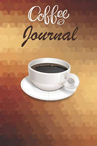 Coffee Journal: log and rate Tasting Notebook Gift for Coffee Drinkers...