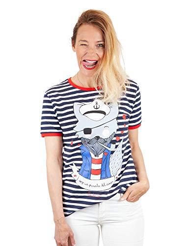 ANABEL LEE Camiseta ilustrada Unisex Lobo.