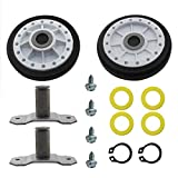 MAYITOP LA-1008 Dryer Rear Drum Roller Kit Compatible With Whirlpool Amana Dryer Replace LA-1008 PS2162268 31001096 AP4242491