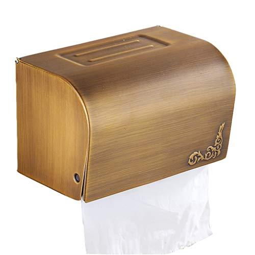 AOIWE Tenedor de Papel higiénico Cerrado punzón Estante de baño Titular de Papel higiénico Servicio de distribución