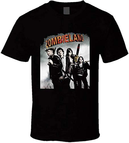 Zombieland Movie Poster T Shirt,Black,Large