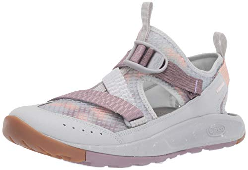 Chaco Women's Odyssey Sport Sandal, Mist Quail, 5