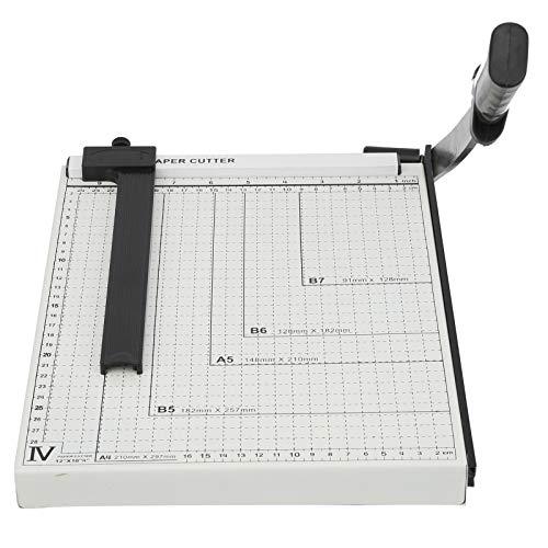 Cortador de papel, máquina industrial multifuncional del cuchillo del corte de la identificación de la tarjeta de la foto de la guillotina A4