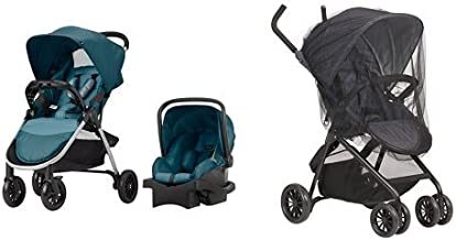 Evenflo Folio Travel System, Meridian with Stroller Insect Netting