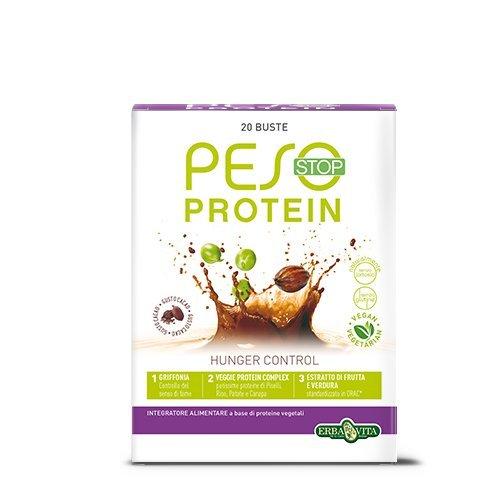 Erba Vita Integratore Alimentare Peso Stop Protein - 20 Bustine x 15 g