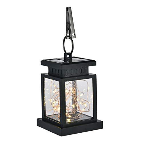 Waterproof Outdoor Solar Hanging Light LED Yard Patio Garden Lamp Decors Led Llight, LED Light Home Decor Living Room for Easter