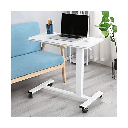 Bett Rolltisch Laptop Ständer Einstellbare Computer-Stehpult W/Räder Tragbarer Beistelltisch for Bett Sofa Krankenhaus Lesen Essen