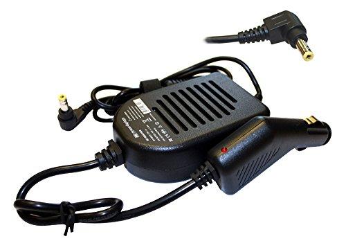 Power4Laptops Laptop KFZ Ladegerät kompatibel mit Toshiba Satellite Pro L550-199