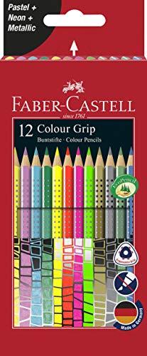 Faber-Castell - Matite colorate Set di 12 colori speciali. 12er Sonderfarben Colorato.