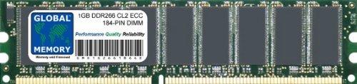 GLOBAL MEMORY 1 GB DDR266 MHz PC2100 184 Pines ECC DIMM (UDIMM)...