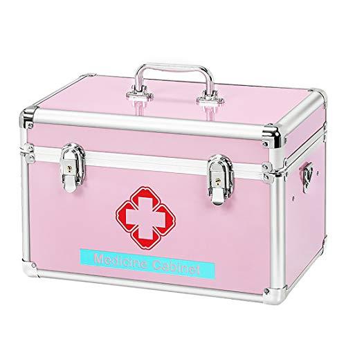 ZZZGY hausapotheke Erste-Hilfe-Box, Kombinationsschloss-Box für Medikamentenfächer, Medizin-Aufbewahrungsbox für Medikamente, Mall Medical-Box für Notfallbedarf