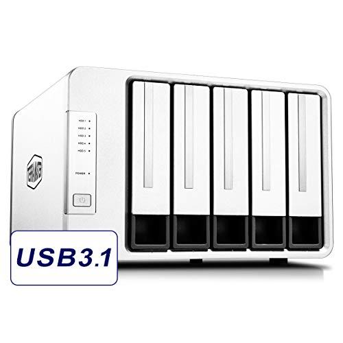 TerraMaster D5-300C USB3.1 (Gen1) Type C 5-Bay RAID Enclosure Support