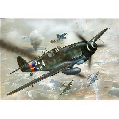 Revell Modellbausatz Flugzeug 1:72 - Messerschmitt Bf109 G-10 im Maßstab 1:72, Level 3, originalgetreue Nachbildung mit vielen Details, 04160